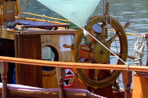 What Is The Helm Of A Boat by Helm Of A Boat 4 Free Photos