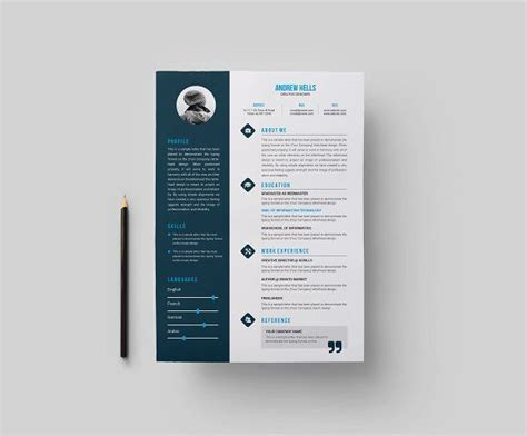 Resume Features by Features Of Resume Template Resumetemplate Cvtemplate