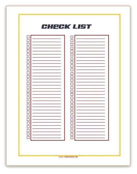 microsoft office check template checklist template microsoft office templates