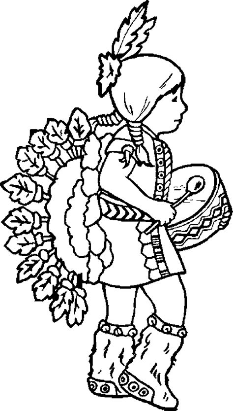 indian coloring pages coloringpagescom