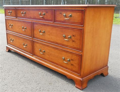 large chest of drawers large yew chest of drawers by bradley sold