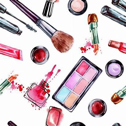 Makeup Brush Cosmetics Cartoon Clipart Artist Lipstick