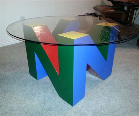 N Table The N64 Logo End Table All
