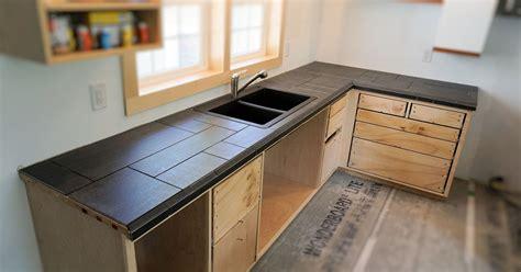 installing  tile countertop ibuilditca