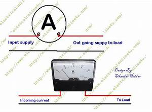 Three Phase Ammeter Wiring Diagram