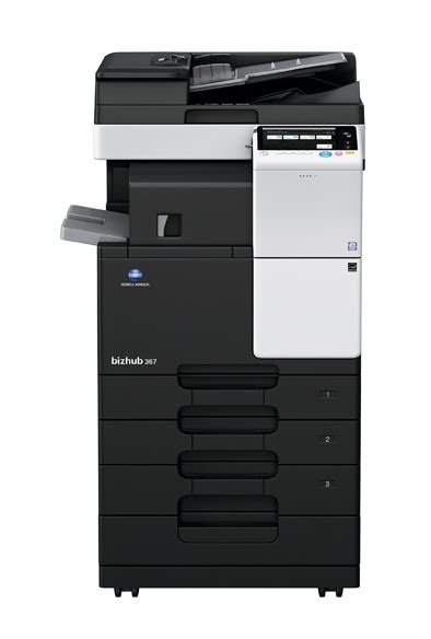 Because of unavailable paper size (copy, print and fax) are bypassed by consecutive jobs. bizhub 367   Multifunctional Printers   CBA Group