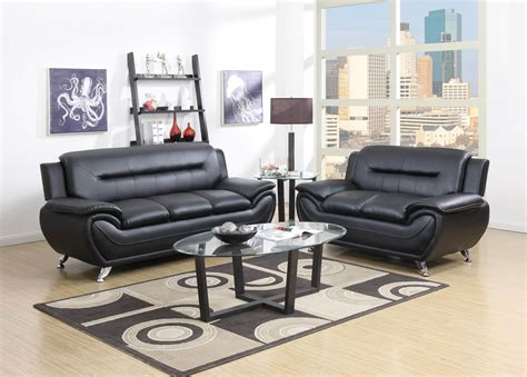 Sofa And Chair Set by Black Living Room Set Leather Living Room Sets