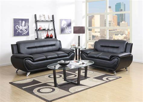 Black Living Room Set