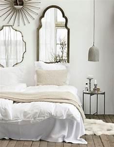 Deco Chambre Blanche : la chambre blanche en 15 fa ons elle d coration ~ Zukunftsfamilie.com Idées de Décoration