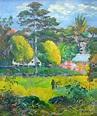 Paul Gauguin, Landscape | Paul Gauguin (1848-1903 ...