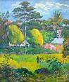 Paul Gauguin, Landscape   Paul Gauguin (1848-1903 ...