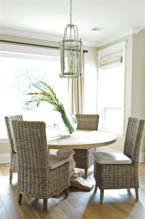 rattan kitchen table and chairs best 20 wicker dining chairs ideas on eat in