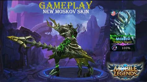 mobile legends moskov  skin gameplay youtube