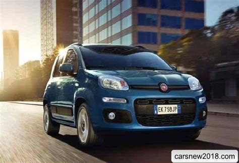 20182019 Fiat Panda Van  Cars News, Reviews, Spy Shots