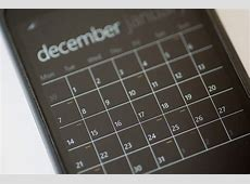 Free Stock Photo 10826 Calendar Application on a Modern