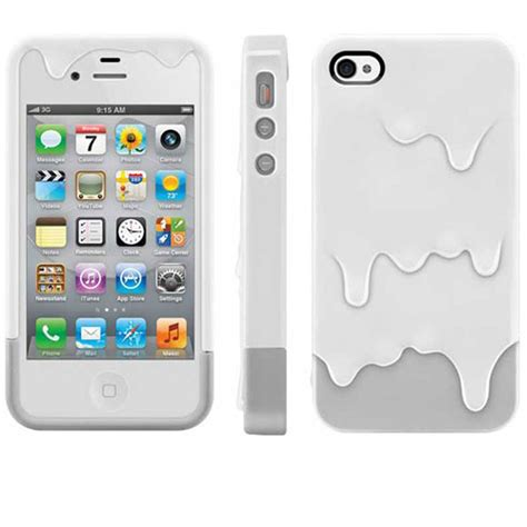3d iphone 5s cases 3d melt printed for apple iphone 4s 5s back