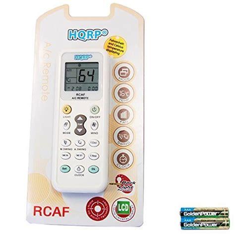 air conditionne mural prix hqrp t 233 l 233 commande universelle de climatiseur mural air conditionn 233 pi 232 ces et accessoires pour