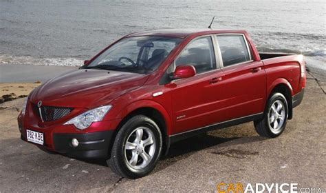 ssangyong actyon sports review  caradvice