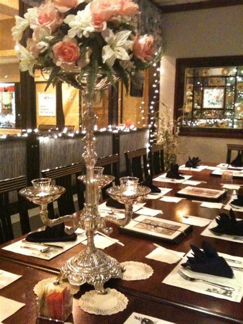 Elegant Dinner Party Tables