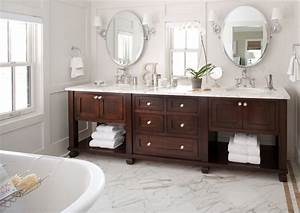 Denver, Cottage, Style, Bathroom, Vanity, Traditional, With, Marble, Counter, Modern, Orchids, Gray, Wall