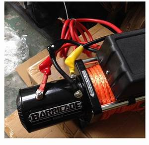Hot To Install A Barricade 9500lb Winch W   Synthetic Rope