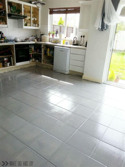 paint bathroom tile floor