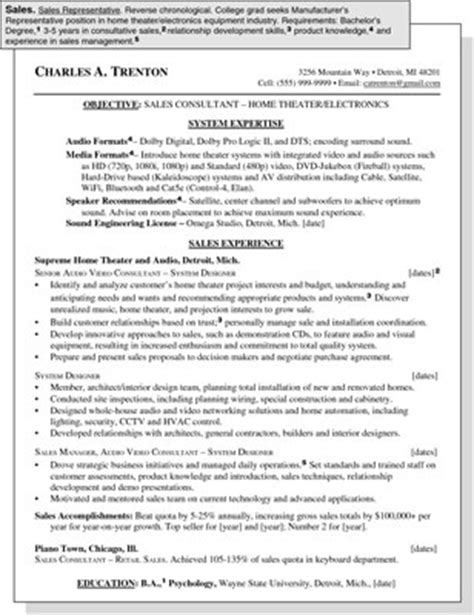 resume writing for dummies sales representative position resume