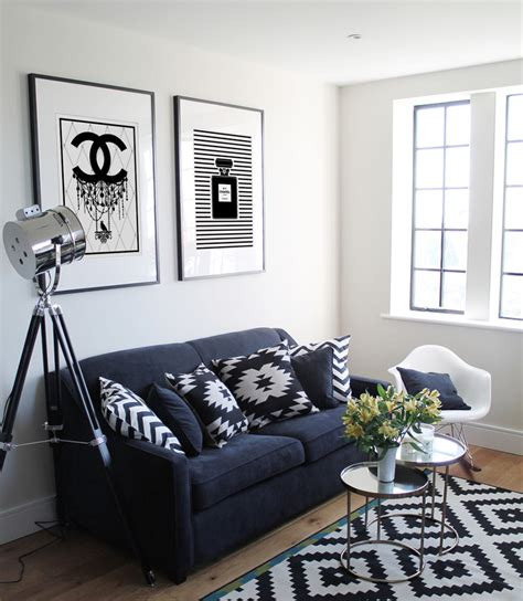 black ls for living room 23 modern living rooms adorned with black and white area