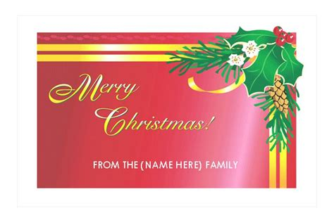 Christmas Card Template For Word Nail Salon Business Cards Free Card Printing In New York Visiting Design Youtube For Yoga Mockup Download Make Your Own Website With Metallic Foil Mba