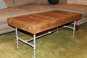 industrial modern reclaimed wood coffee table made to order With coffee tables made from reclaimed wood