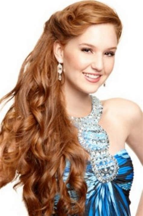 prom side hairstyles for long hair
