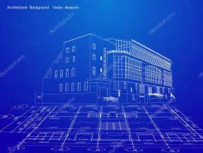 blue prints house architecture blueprint of a house vector stock vector emaria 4312271