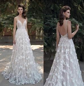 3d floral appliques wedding dresses 2016 berta bridal full With floral lace wedding dress