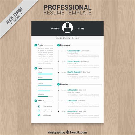 resume exles templates 10 best 10 top free resume templates freepik blog