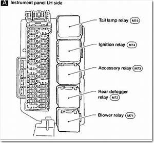 2011 Nissan Xterra Fuse Box Diagram