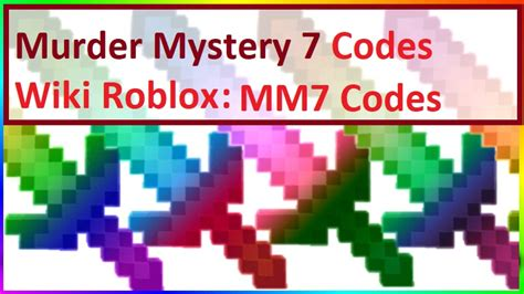Our roblox murder mystery 2 codes wiki has the latest list of working code. Peromo Code In Murder Mystery 2 / Murder Mystery 2 Codes ...