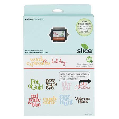 Making Memories Slice Design Card  591155 Qvcukcom