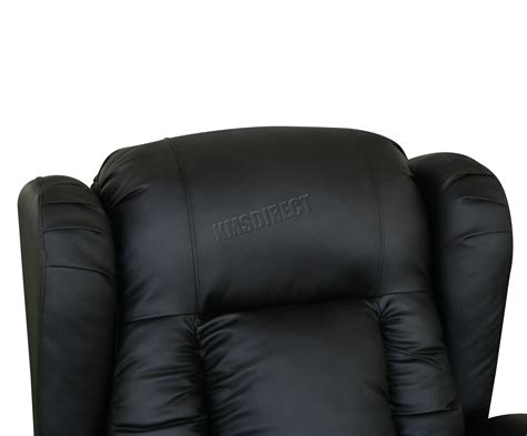 Westwood Leather Recliner Armchair Swivel Heated Chair