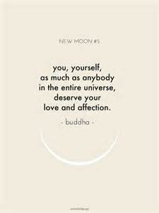 Buddha You Yourself Deserve Your Love and Affection