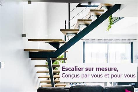 cuisine en inox garde corps escalier design et verrière sur mesure en