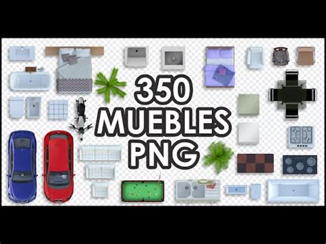 muebles png furniture view top youtube