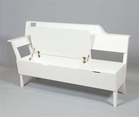 white storage bench white wood storage bench practical and doubled functional