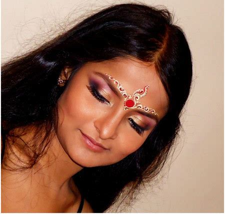 how to do hindu bridal makeup step by step tutorial