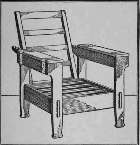 images  morris chair plans  pinterest
