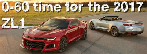How Fast Is The 2017 Chevy Camaro Zl1?