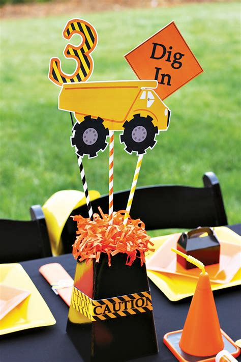 monster trucks for kids video creative construction themed birthday party loads of fun