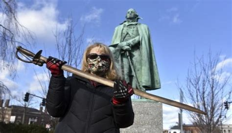 Check spelling or type a new query. Remorseful man returns statue's stolen sword after 40 years | WMAL-FM