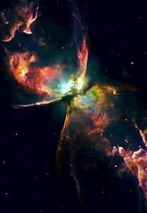 The Butterfly nebula, NGC 6302, lies about 4,000 light ...