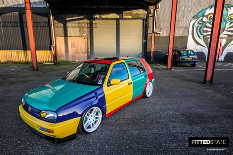 volkswagen harlequin for sale lee docherty s harlequin vr6 golf fitted state