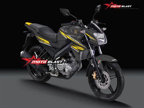 modif striping yamaha new vixion black motoblast